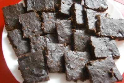Cuketové brownies