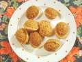 Ořechy plněné karamelovým krémem