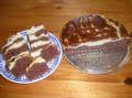 Kakaová buchta s tvarohem